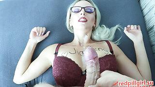 Office slut secretary in glasses fucked hard, redpillgirl