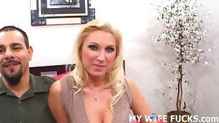 I want to watch my wife fucking a pornstar