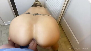 STUCK FUCKED IN Be imparted to murder WASHING MACHINE BIG LOAD