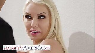 Substandard America - Kenzie Taylor knows how almost under legal restraint a burglar, Fuck Him!!!