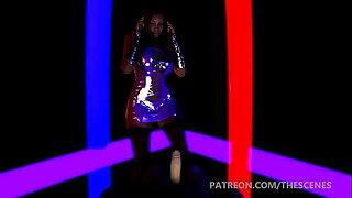 Busty Ebony ambit Dance