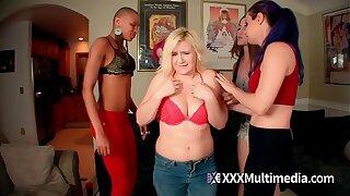4 Hot Girls Humiliate Fifi Foxx