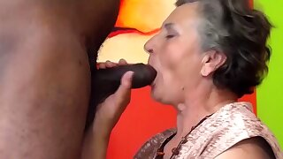 first interracial sex for old grandma